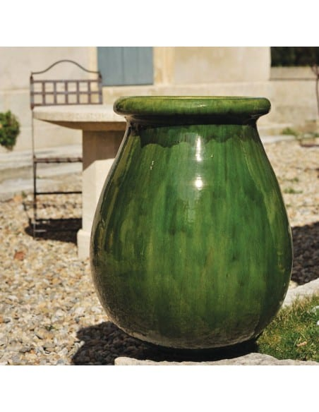 Biot émaillé tradition vert