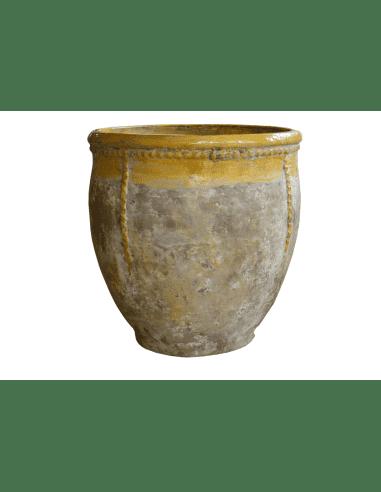 Biot col jaune patine provence