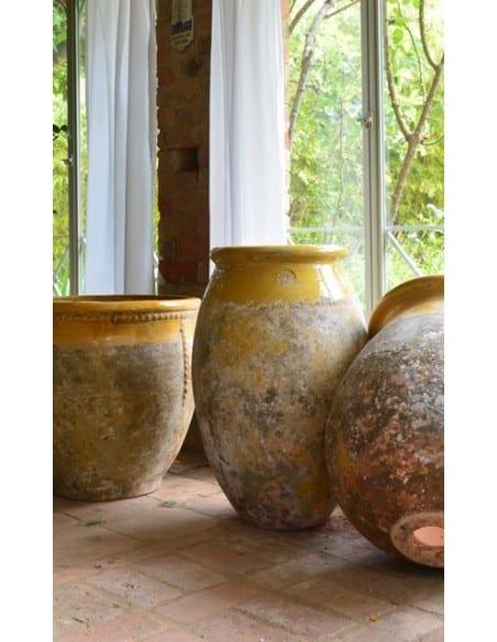 Biot Olive col jaune patine provence