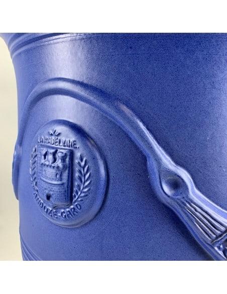 Vase d'Anduze couleur Bleu Majorelle