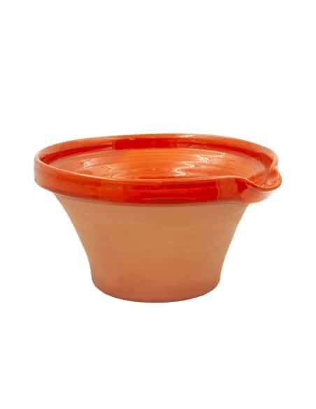 Tian provençal artisanal orange