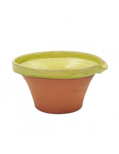 Tian provençal artisanal vert