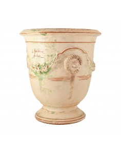 Anduze vase antic patinas (middle sizes)