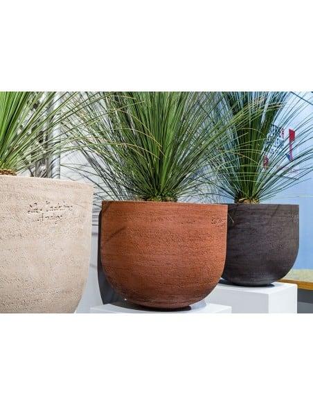 Vase Emma en terre naturelle - Les 3 coloris disponibles