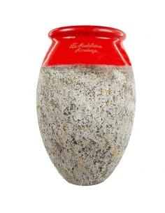 Olive shape Biot jar rouge...