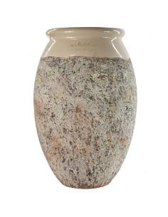 Olive shape Biot jar ivoire...