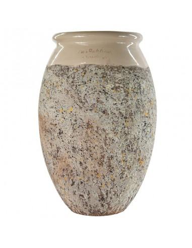 Olive shape Biot jar ivoire collar...