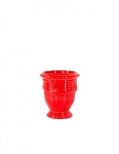 Mini vase d'Anduze émaillé...