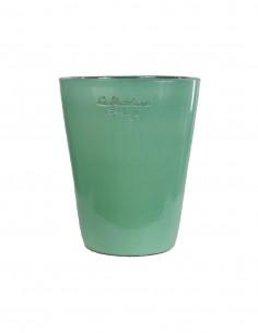 Celadon green glazed Mazagran