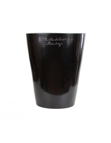 Mazagran émaillé couleur noir