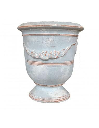 Grey patina Anduze vase (middle sizes)