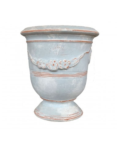 Vase d'Anduze patine grise (Tailles moyenne)
