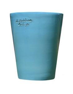 Mazagran émaillé turquoise