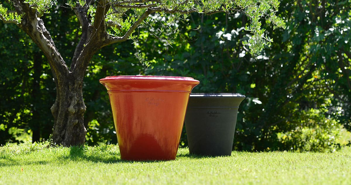 Contemporary pots