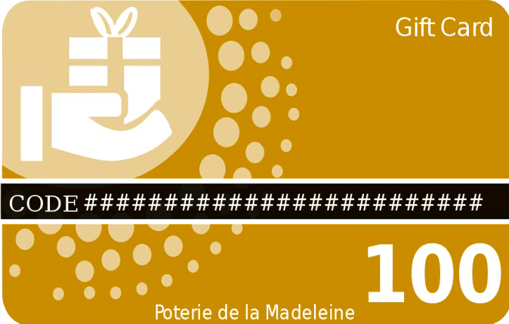 Offer a Poterie de la Madeleine gift card